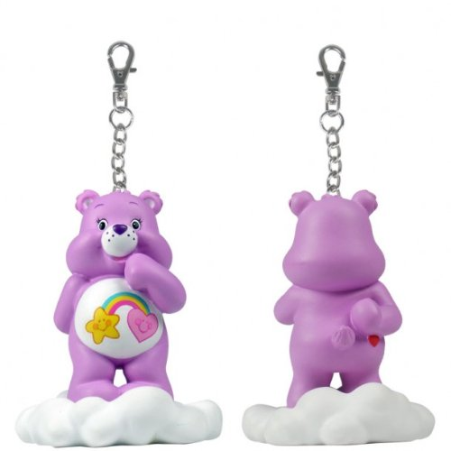Care Bears: Share A Bear Series 2 - Purple Best Friend Bear On Cloud Clip