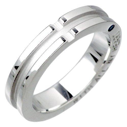 close to me クロストゥーミー ブルーダイヤモンド シルバー リング 指輪