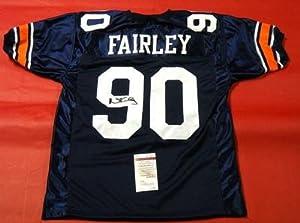 Signed Nick Fairley Jersey - Auburn Tigers - JSA Certified - Autographed NFL Jerseys by Sports+Memorabilia