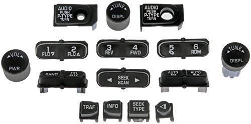 Dorman 76822 Radio Button Assortment (Silverado Tuner Knob compare prices)