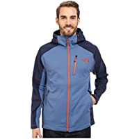 The North Face Mens Tenacious Hybrid Hoodie Jacket (Moonlight Blue/Cosmic Blue)