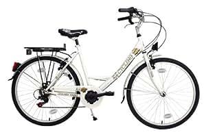 Damenfahrrad 26'' Golden Times weiß RH 48 cm KS Cycling