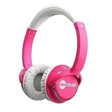 buy New Noisehush Nx26 11951 3.5Mm Stereo Headphones In-Line Mic Dark Pink Universal By Noisehush