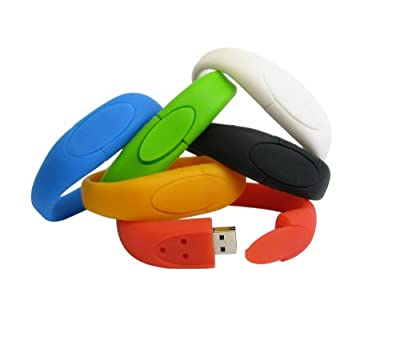 Usb Stick Wristband 4gb Red by EASYWORLD