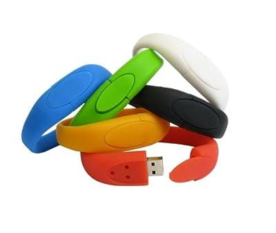Usb Stick Wristband 4gb Red by ZUBER