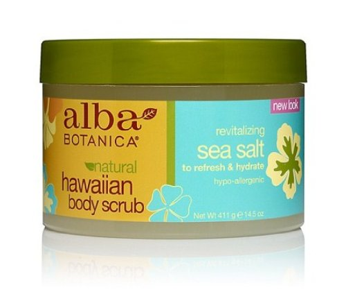 Alba Hawaiian Body Scrub, 14.5-Ounce Jar