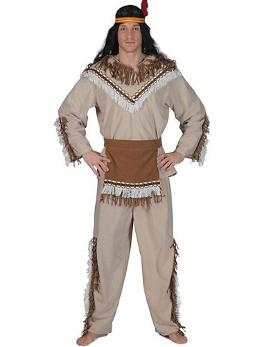 Adult Deluxe Running Bear Indian Costume
