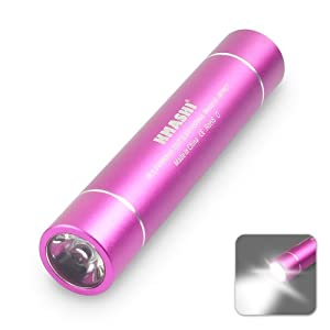 Kmashi MP807 2800mAh LED Flashlight Portable Power Bank External Battery