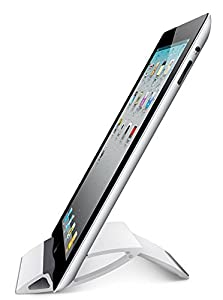 Adjustable iPad Stand Tablet Holder - SALE - BEST Portable Stand For iPad, Air, Mini, Samsung Galaxy Tab, Playbook, Xoom, Acer, Nook, Toshiba, e-Book Reader, Apple and Other Tablets. Fold-Up Universal Holder Good for Travel, Desk, Kitchen Cookbook, Airpla
