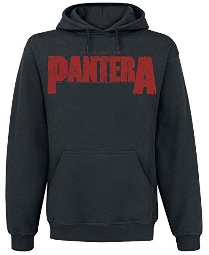 Pantera Vulgar Display Of Power Felpa con cappuccio nero L