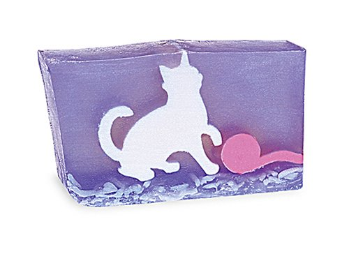 Primal Elements Wrapped Bar Soap, White Cat, 6.8-Ounce Cellophane (Pack of 2)