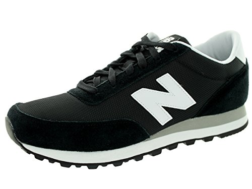 New Balance Men'S Ml501 Running Shoe,Black/White,13 D Us