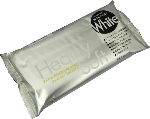 Padico Hearty soft clay 200g [white]