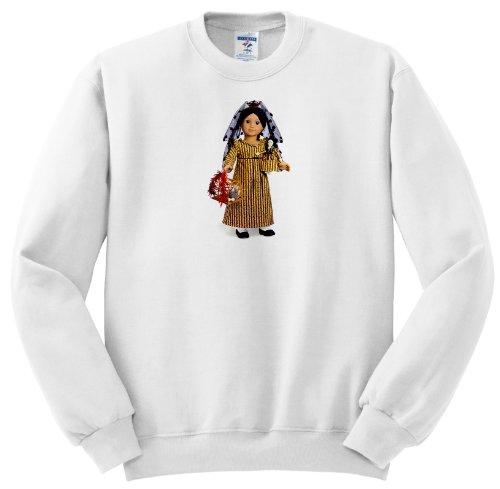 Ss_181_5 My American Girl Doll - Josefina - Sweatshirts - Adult Sweatshirt 2Xl