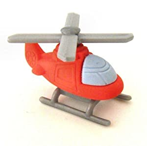 Helicopter Erasers - 3D Novelty Rubbers by TAOS