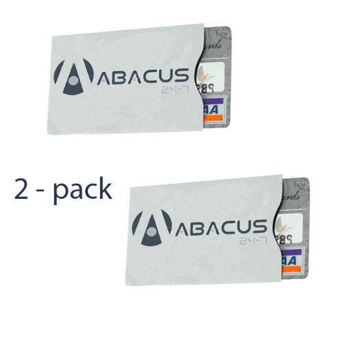 Identity Stronghold Rfid Blocking Secure Sleeve / Case For Id & Credit Card - Pack Of 2