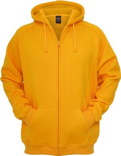 Urban Classics felpa con cappuccio da donna uomo TB014C Urban Fit arancione Small