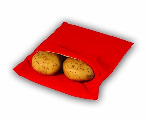Fashionclubs Potato Bag Microwave Potato Express Potato Baked Cooker Bag Pouch Red (Microwave Potato Sack compare prices)