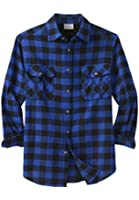Boulder Creek Men's Big & Tall King Size Flannel Shirt