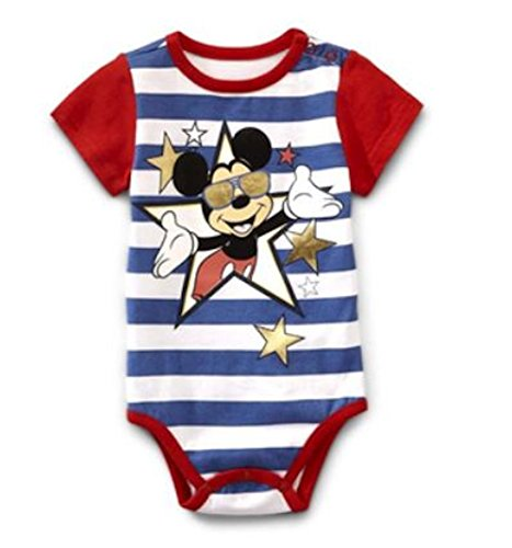 Disney Mickey Mouse Baby Bodysuit Dress Up Outfit