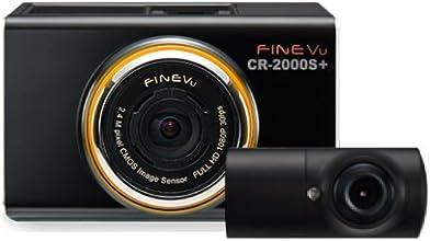 Inbyte インバイト FineVu 2カメラフルHD 液晶付ドライブレコーダー CR-2000S+ CR-2000S-P