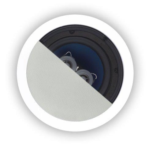 Osd Audio Ice620Tt 6.5-Inch 125-Watt Polypropylene Dual Voice Coil In-Ceiling Stereo Speaker, Single