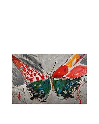 Arte dal Mondo canvas foto Paolo Rossini Farfalla
