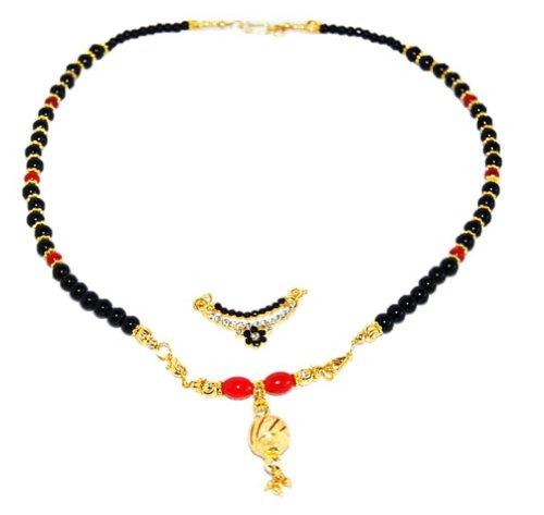 Madhumalati Imitation Mangalsutra - Interchangeable Pendant