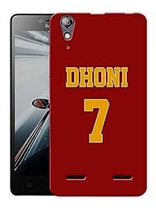 "Humor Gang Indian Captain Printed Designer Mobile Back Cover For ""Lenovo A6000 - A6000 PLUS"" (3D, Matte, Premium Quality Snap On Case)"