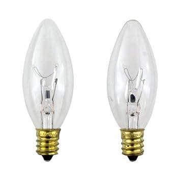 philips 40 watt clear ceiling fan light bulbs candelabra base b8 2. Black Bedroom Furniture Sets. Home Design Ideas