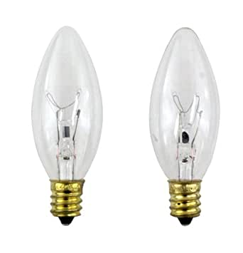 PHILIPS 40 Watt Clear Ceiling Fan Light Bulbs