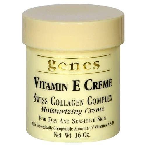 ビタミンE,A,D合計で200,000IU以上配合 Genes ビタミンEクリーム 473ml