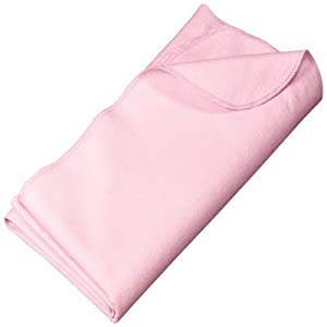 Precious Cargo - Flannel Receiving Blanket, Light Pink