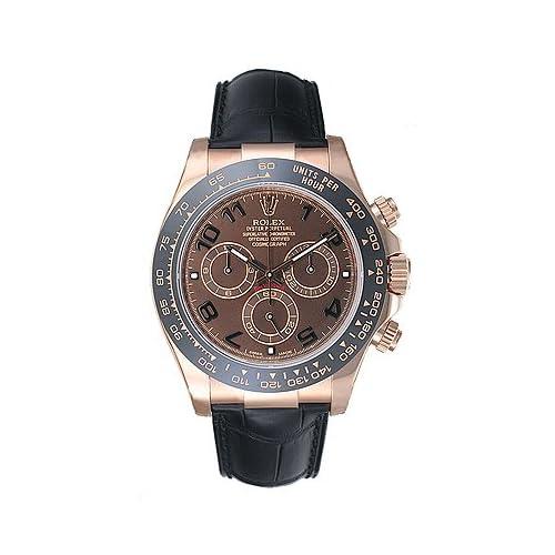 (ロレックス) ROLEX 腕時計 デイトナ 116515 チョコレート メンズ [並行輸入品]