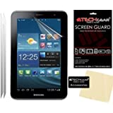 [2 Pack] TECHGEAR® Samsung Galaxy Tab 2 7.0 P3100 with Wifi & P3110 (7 inch) MATTE ANTI GLARE LCD Screen Protector Covers With Cleaning Cloth & Application Card