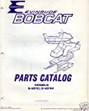 1972 EVINRUDE SNOWMOBILE BOBCAT PARTS MANUAL