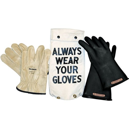 "Salisbury Insulated Glove Kit, Class 0, Red, 11""L, Size 11; One Pair"