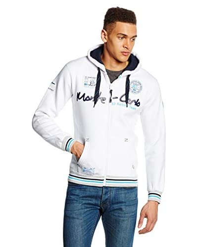 Geographical Norway Giacca Felpa [Bianco]