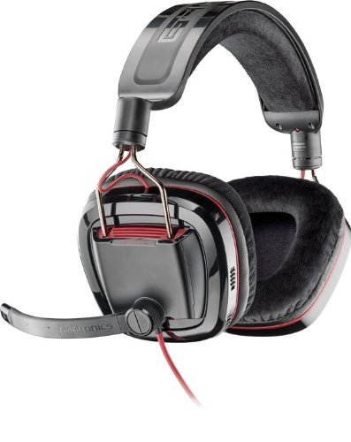 Plantronics GameCom 780 Open Ear Gaming Headset with 7.1 Surround Sound