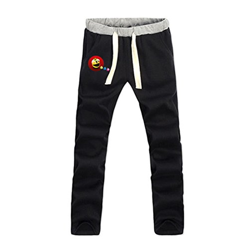 LARger pac-man Custom Men's Sweatpants L