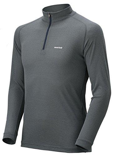 (モンベル)mont-bell ジオラインL.W.ハイネックシャツ Men's 1107488 SH/NV シャドウ/ネイビー S
