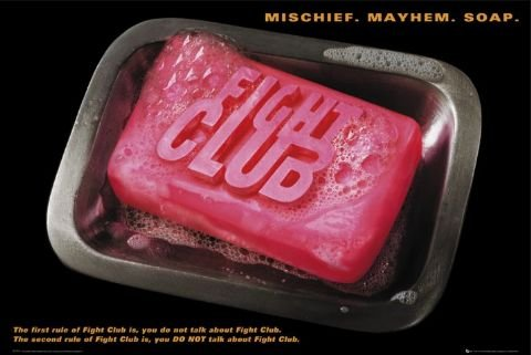 Poster Fight Club - inciso