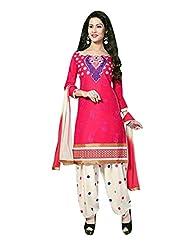 AASRI Women Cotton Unstitched Salwar Suit - B013M0VVU2