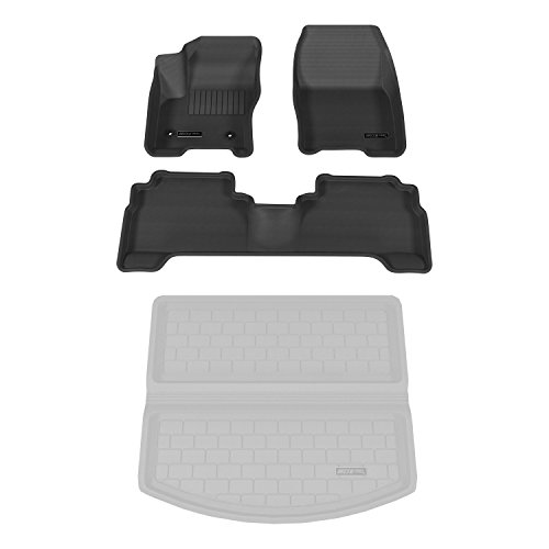 Aries 2925409 StyleGuard Black Floor Liner Set (2015 Ford Escape Floor Liner compare prices)