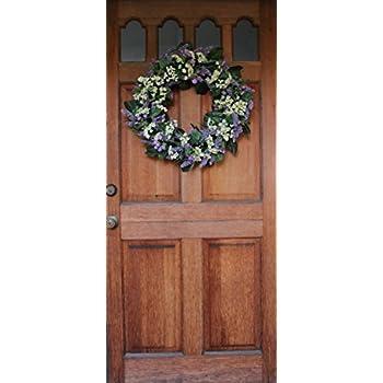Bishops Lace Silk Spring Front Door Wreath 22 Inch