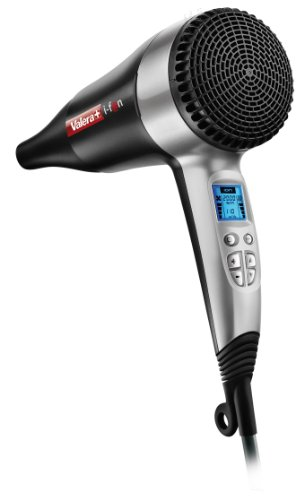 Valera i-F@n Digital Control Ionic 2000 W Hair Dryer Plastic Black/ Silver