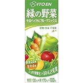 伊藤園 緑の野菜 モロヘイヤ&フルーツミックス 200ml×24本