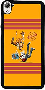 PrintVisa Cartoon Abstract Back Cover for HTC Desire 826 (2D-HTCD826-D7741)