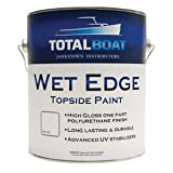 TotalBoat Wet Edge Topside Paint (White, Gallon)