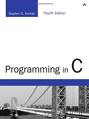 Programming in C: Developer's Library (Developer's Library (Old Edition))